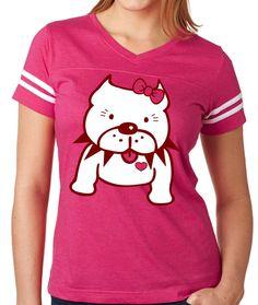 Pitbull womens shirt https://www.etsy.com/listing/219970941/hello-bullie-womens-shirt-featuring