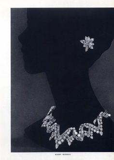 Earrings diamond vintage chocolate