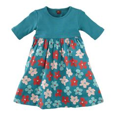 Tea Collection Stiefmütterchen Skirted Dress in color scuba from 2014 fall/ winter Germany collection org price $40