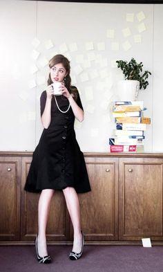 Shabby Apple dress- I love this dress! so flattering!