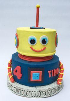 Robot taart.