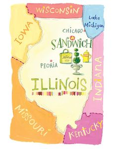 Map of the Sandwich Antiques Market - Come Flea with Me - a business that plans trips to flea markets and shows! I definitely must check this out!