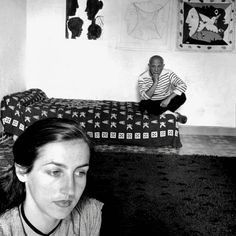 Pablo Picasso and Francoise Gilot