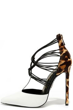 Lust for Life Locust Leopard Multi Pony Fur Pumps at Lulus.com!