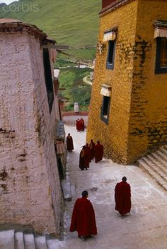 Ganden Monastery, Tagtse County, Tibet/ Would the monks remember him from so long ago? Had they become more Chinese than Tibetan? These were questions that haunted him.
