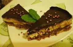 Nutellás-banános túró torta7 No Bake Treats, Dessert Recipes, Desserts, Nutella, Steak, Baking, Food, Food Cakes, Tailgate Desserts