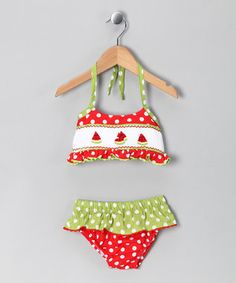 smock bathing suit...love the colors :)