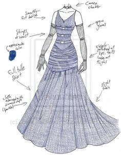 MHcd - Starry-Eyed by on DeviantArt Dress Drawing, Drawing Clothes, Cosplay Outfits, Anime Outfits, Paper Dolls Clothing, Wedding Dress Sketches, Costume Collection, Dress Images, Fashion Art