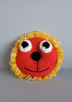 Lion- Handmade Cushion by finfin London.