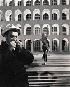 Fellini, Ekberg, Boccaccio '70