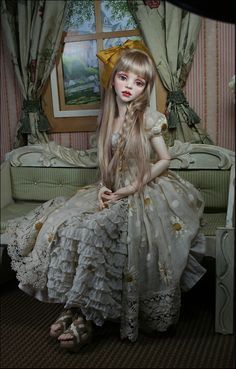 Introducing Cassie - new BJD doll by Dale Zentner.
