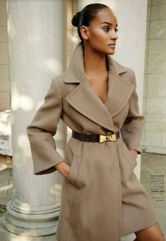 Tahari - A simple and elegant  coat for any occasion.