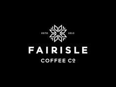 Fairisle Coffee by Steve Wolf #Design Popular #Dribbble #shots