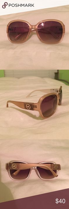 Michael Kors Sunglasses I've only worn these a couple times. Selling both the case and the sunglasses together to help fund my mission trip for a very reasonable price!!! KORS Michael Kors Accessories Sunglasses