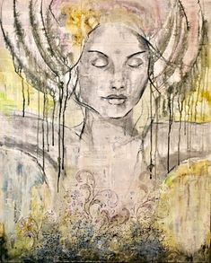 """Invite Stillness"", 80x100cm, SOLD"