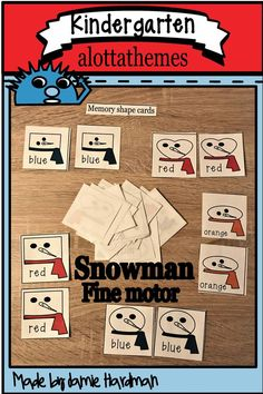 This resource of 24 pages full of fun fine motor activities will engage and motivate your students who need fine motor practice to help with writing this winter season. Group Activities, Winter Activities, Kindergarten Classroom, Classroom Ideas, Shaped Cards, Morning Work, Motivate Yourself, Fine Motor, Red And Blue