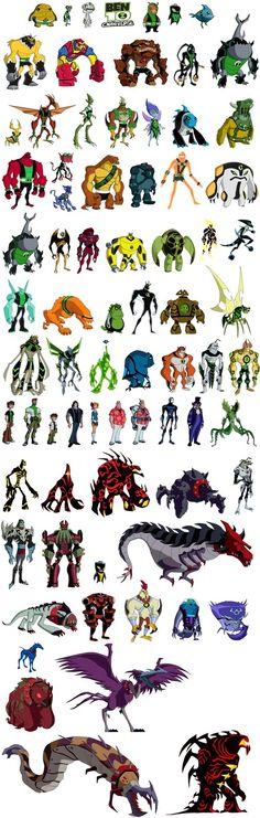 Ben 10 Omniverse Sprites Artists:,, ----------- More comnig soon. Ben 10 Omniverse (c) Man of Action and Cartoon Network