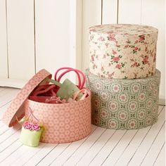 Lovely Hat Boxes :)