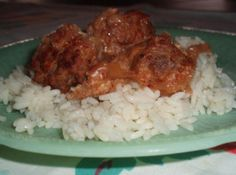 Norwegian Meatballs And Rice Recipe