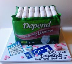 Women's 50th Birthday Cake Ideas | 50th birthday, woman cake | cake decorating ideas-I WANT THIS FOR MY 50TH BIRTHDAY
