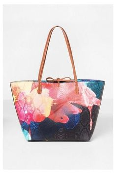 Shopper Capri Aquarelle