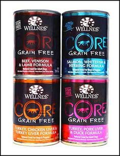 Wellness CORE Natural Grain Free Wet Canned Dog Food…