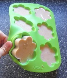 Homemade Soap without using lye. This is good when you have a kid in the house.