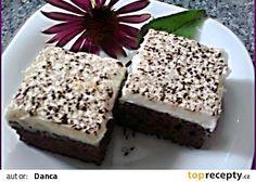 Čokojogurtové řezy s kokosovým krémem recept - TopRecepty.cz