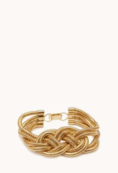 Pretty-Tough Braided Bracelet | FOREVER 21 - 1002246311