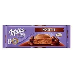 Milka Noisette Milk Chocolate Chocolate Milka, Chocolate Hazelnut, Chocolate Gifts, Chocolate Bars, Chocolates, Favorite Candy, Cream, Sweet, Sweets