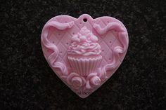 Cupcake op hart 2 | *Nieuw Februari Zeep* | Just soap