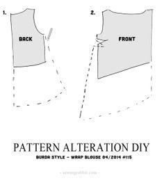 Pattern Alteration DIY