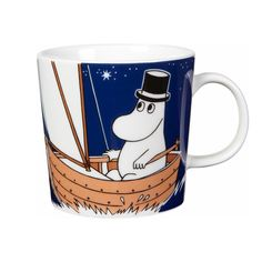 Moominpappa Sailing mug by Arabia