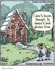 Bizarro - Gluten-free Comic Strips | The Comic Strips