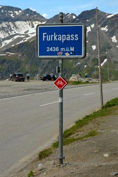 Furka Pass (Kanton Uri, Kanton Wallis) switzerland