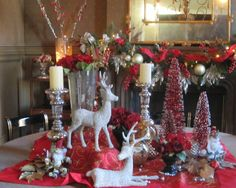 Dining Room Christmas Design, Pictures, Remodel, Decor and Ideas - page 34