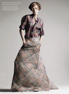Retro Remix I US Vogue I March 2013 I Models: Anais Mali, Edie Campbell I Photographer: David Sims I Editor: Grace Coddington.
