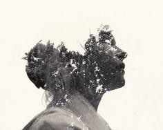 Superb Multiple Exposure Portraits by Christoffer Relander