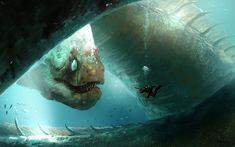 ArtStation - the eel, Denis Loebner