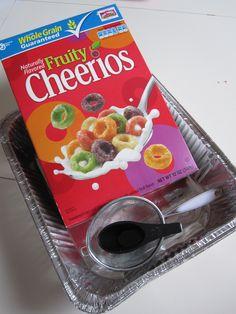 Fruity Cheerios activities