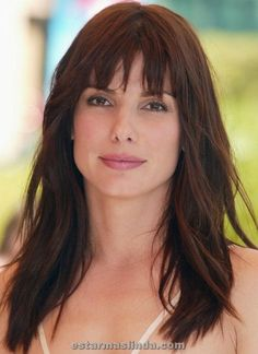 Sandra Bullock Hairstyles : 2014 New Hair Style Models Beautiful Celebrities, Beautiful Actresses, Beautiful Women, Peinados Pin Up, Jesse James, Actor Model, Celebrity Hairstyles, Cute Woman, Hair Trends