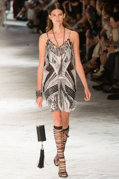 Roberto Cavalli Spring 2014 RTW - Runway Photos - Fashion Week - Runway, Fashion Shows and Collections - Vogue Milano Fashion Week, Paris Fashion, Runway Fashion, Fashion Show, Fashion Design, Couture Fashion, Roberto Cavalli, Alexander Mcqueen, Review Fashion