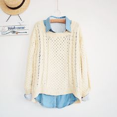 @Nicole Novembrino Grams Nicole another gift hint is sweaters and button ups. Also search Korean fashion dress on here and the dress/skirts are like what i like :)