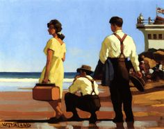 'The Out of Towners' by Jack Vettriano.