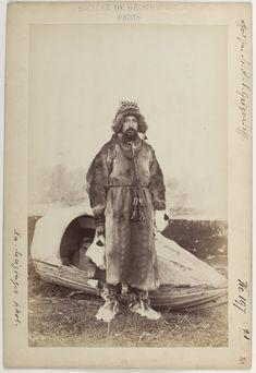 Лопарь в национальном костюме.-фото 1887 г Я.И.Лейцингер
