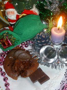 Горячий шоколадный пай  (Французская кухня )