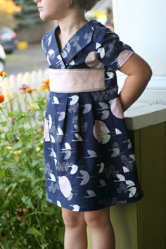 a 1000 cranes library dress -- probably actually-7897 #oliverands #kids #dress