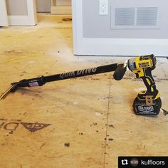 toolsinthenorth@kulfloors showing off the #dcd887 with 6.0 Flexvolt battery. I'll have to agree with him an official version would be nice. #toolsinthenorth #toughinthesouth #toughinthenorth #dwtough #dewalt #dewalttough #dewaltnation #quickdrive #flexvolt