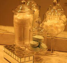 NuSophisticate: Bathroom counter ideas