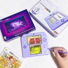 - Nintendo - Ideas of Nintendo - Lila und Harvest Moon. Nintendo 2ds, Nintendo Games, Harvest Moon, New Gadgets, Office Gadgets, Phone Gadgets, Ds Xl, Kawaii Games, Custom Consoles